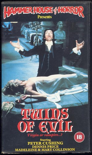 Twins of Evil - Hammer Horror Video